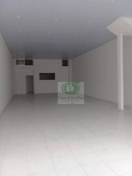 Loja Locação, 200 M², Por R$ 5.000/mês - Vila Nova - Santos/sp - Lo0069