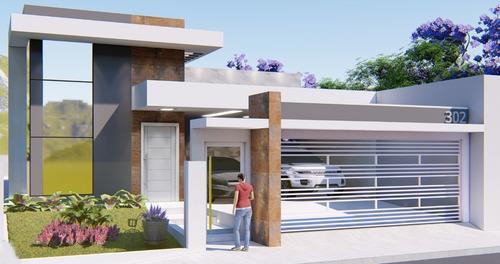 Imagem 1 de 8 de Projeto Arquitetônico 3qtos + Hidráulico + Elétrico   Ea-150