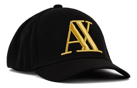 Gorra Armani Exchange Rubber Logo Hat Premium 100% Authentic