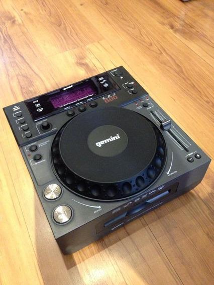 Cd Player Profissional P/ Dj Gemini Cdj-600