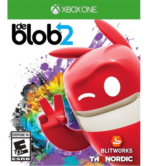 De Blob 2 Xbox One Mídia Física Novo Lacrado Original