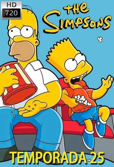 Temporada 25 De Los Simpsons Formato Digital Hd