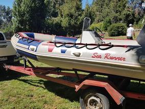 Semirrigido Sea Runner4,60 Motor Yamaha 50hp 2t, Y Trailer