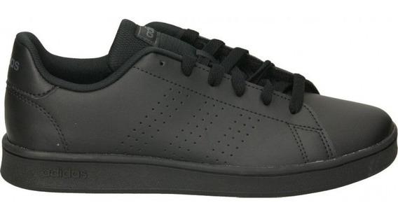 Tenis adidas Advantage K Negro Ef0212