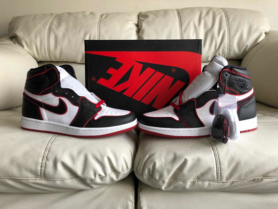 Tenis Air Jordan Retro 1 High Bloodline Del 27.5mx