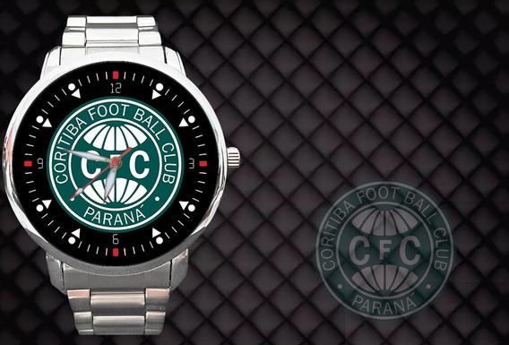 Kit 2 Relógios - Relógio Coritiba Coxa Branca Futebol Verdão