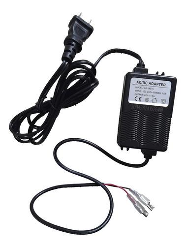 Fuente 24v - 1.5 Adaptador Ac/dc Bomba Osmosis 100g Y 50g