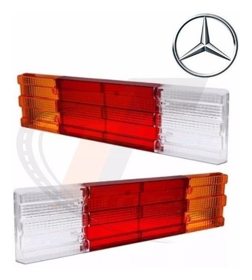 Par Lente Lanterna Caminhão Mercedes Universal