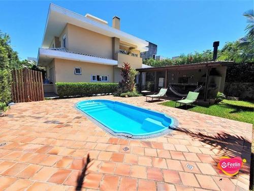 Imagem 1 de 30 de Casa Com 4 Dormitórios À Venda, 277 M² Por R$ 2.180.000,00 - Campeche - Florianópolis/sc - Sc - Ca0083_feelin