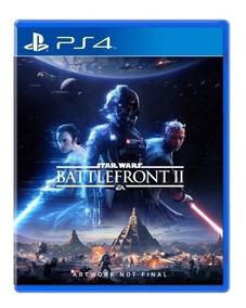 Star Wars Battlefront 2 Midia Digital Ps4 Original 1º