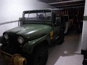 Jeep Willys 1954 Estilo De Guerra- Clasico
