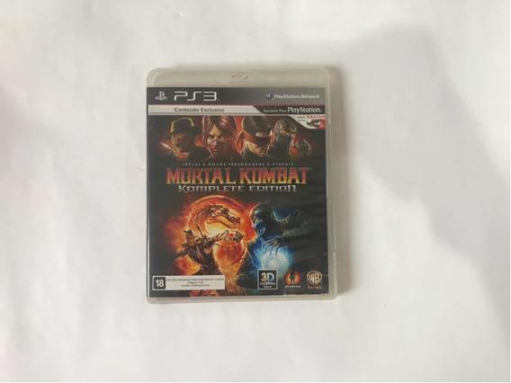 Mortal Kombat Komplete Edition Para Ps3