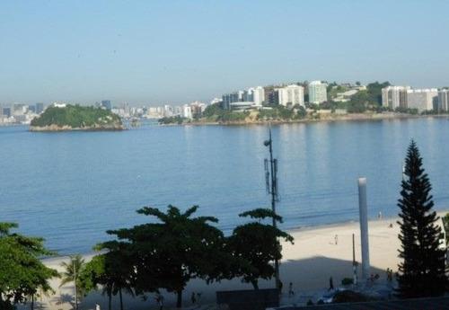 Apartamento Com 3 Dormitórios À Venda, 180 M² Por R$ 820.000,00 - Icaraí - Niterói/rj - Ap0764