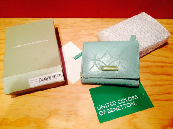 Benetton Wallet Cartera Monedero Mujer
