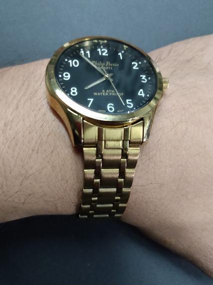 Relógio Philip Persio Quartz 3 Atm