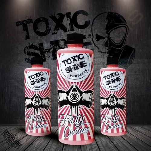 Toxic Shine | Fruty Cream | Acondicionador Interior | 600cc