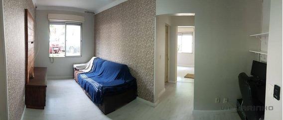 Villarinho Imóveis Vende Lindo Apartamento No J. Vila Nova, Reformado, Cozinha Planejada, Impecável - Ap1383