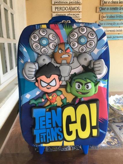 Mochila Teen Titans Go 2019 Max Toy 3d