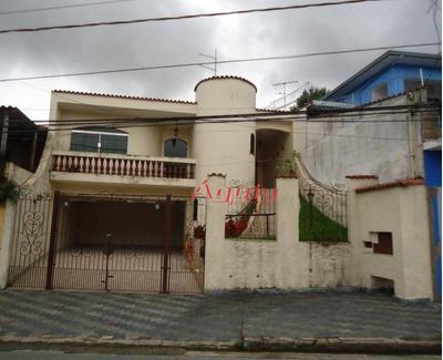 Casa Com 3 Dormitórios À Venda, 200 M² Por R$ 750.000 - Vila Curuçá - Santo André/sp - Ca0503