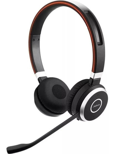 Imagem 1 de 4 de Jabra Headset S/fio Evolve 65ms Biauricular (usb) - Imediato