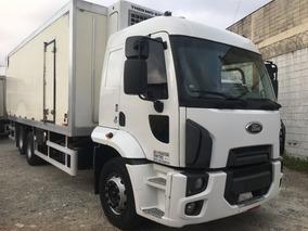 Ford Cargo 2429 Ano 2014 Leito Baú Frigorífico - 30 Graus