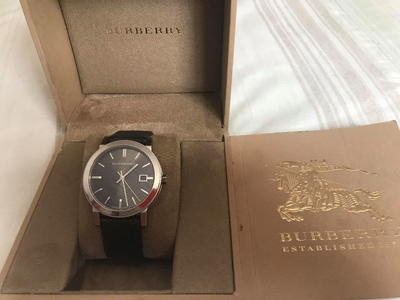 Reloj Burberry De Cballero Original Made In Suiza Isa