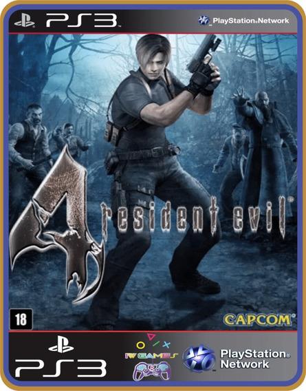 Resident Evil 4, Ps3, Psn, Mídia Digital Jogo Completo