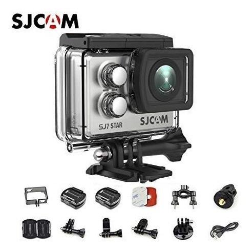 Sjcam Sj7 Star Original + Microfone Motovlog Pato Motosjr