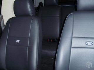 Capa Para Banco Carro Couro Ford Fiesta Sedan 2005\ Com Logo