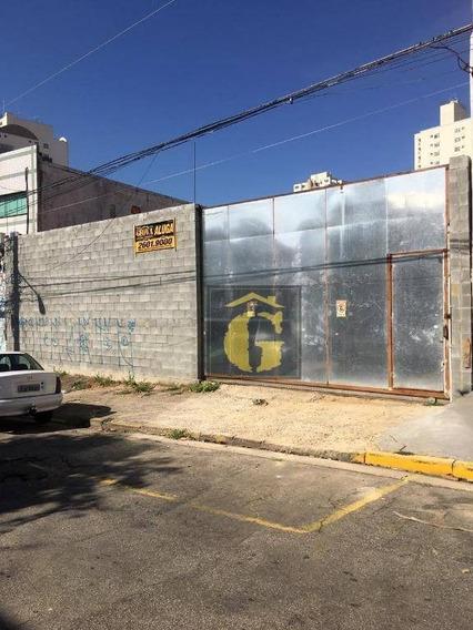 Terreno Para Alugar, 450 M² Por R$ 3.000/mês - Mooca - São Paulo/sp - Te0042