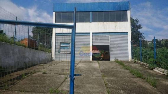 Galpão Comercial À Venda, Vila Brasileira, Mogi Das Cruzes - Ga0008. - Ga0008