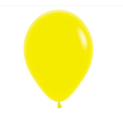 Globos R-12 Fashion Amarillo -sempertex X50