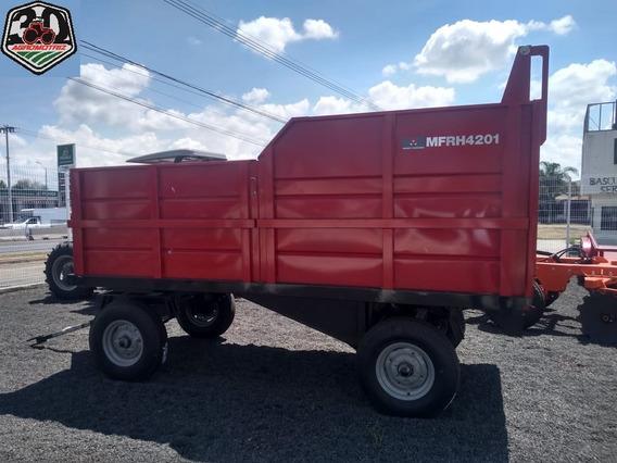 Remolque Cosechador Massey Hidráulico 4 Ton Nuevo