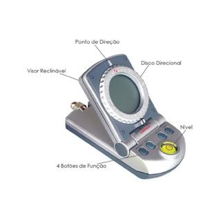 Bússola Digital C/ Relógio E Termômetro 2111 - Csr