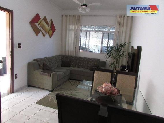 Sobrado Com 3 Dormitórios À Venda, 124 M² Por R$ 325.000 - Catiapoa - São Vicente/sp - So0123