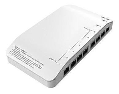 Switch Distribuidor Para Vídeo Porteiro Hikvison Ds-kad606-p