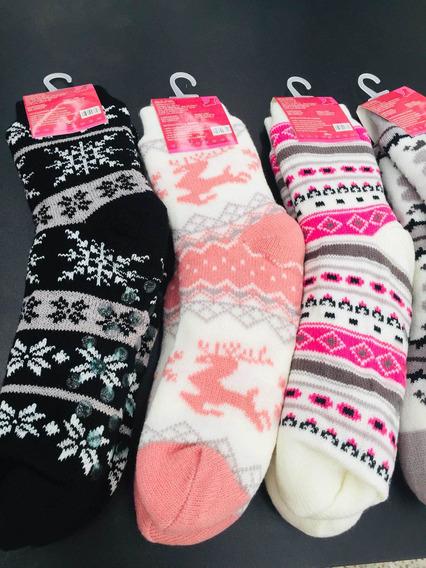 Calcetas Aborregadas Para Frío Invierno