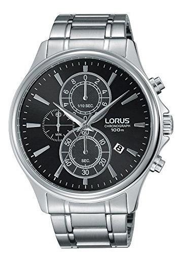 Reloj Hombre Lorus By Seiko Rm307dx9 Chronografo Plateado