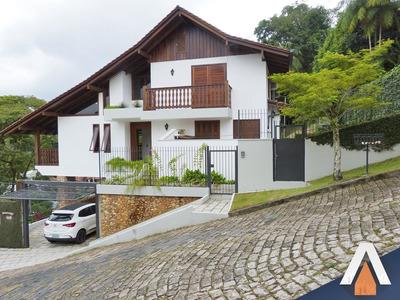 Acrc Imóveis - Casa Em Condomínio No Bairro Velha, Com 04 Dormitórios Sendo 01 Suíte E 03 Vagas Cobertas - Ca00942 - 33799530