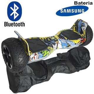 Hoverboard Skate Elétrico 8.5 Off Road Cross Rally Bluetooth