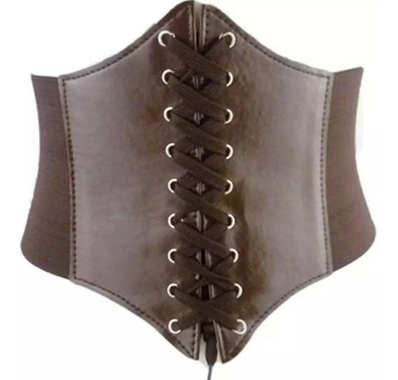 Cinturón Elástico Tipo Corset Cintura De 65 A 80 Cm Ancho Elástico 12 Cm