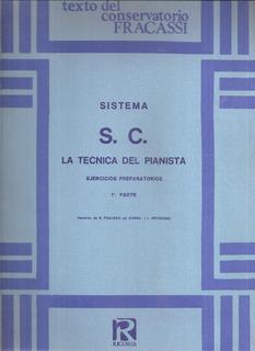 La Tecnica Del Pianista 1° Parte Sistema S. C.