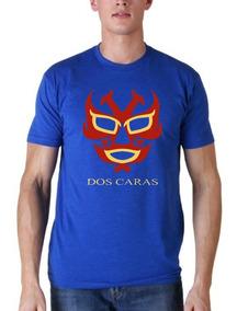 Camiseta Estampada Lucha Libre / Dos Caras
