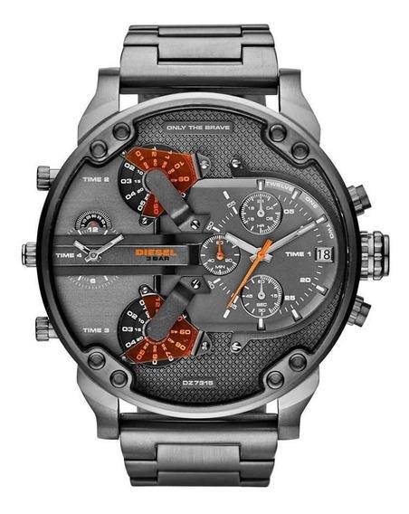 Reloj Diesel Dz7315 Mr Daddy Gunmetal + Envio Gratis