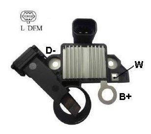 Regulador Delco P/ Onyx/cruze/sonic/s-10 2012- - Onix
