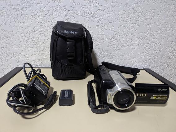 Filmadora Sony Handycam Hdr-sr10 /hdd 40gb /full Hd + Brinde
