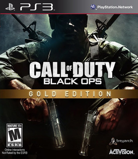 Call Of Duty Black Ops Gold Edition Ps3 Digital Español Gcp