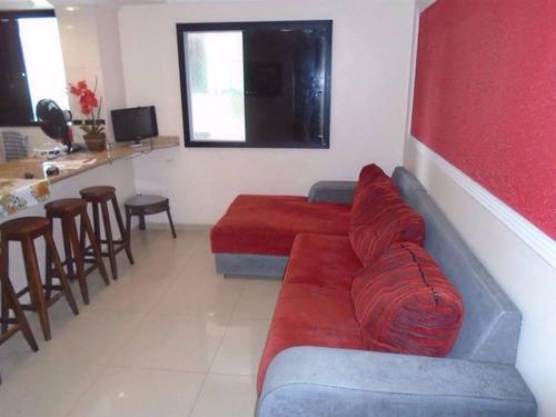 Imagem 1 de 10 de Apartamento, 2 Dorms Com 58 M² - Aviação - Praia Grande - Ref.: Pr2134 - Pr2134