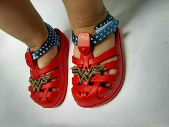 Crocks Vingadores Grendene Kids Bebe Personagens Marvel Baby