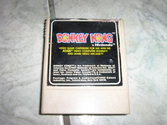 Atari 2600-cartucho Donkey Kong -coleco Funcionando!